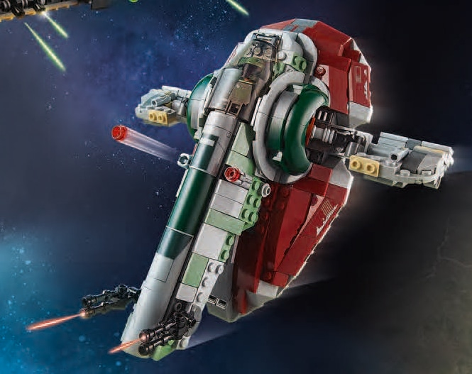 LEGO Star Wars 75312 Mandalorian Slave 1