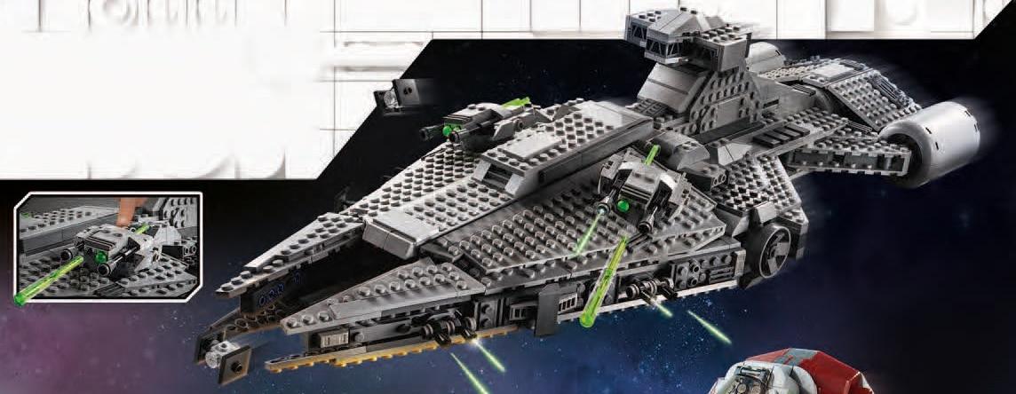 LEGO Star Wars 75315 Mandalorian Light Cruiser