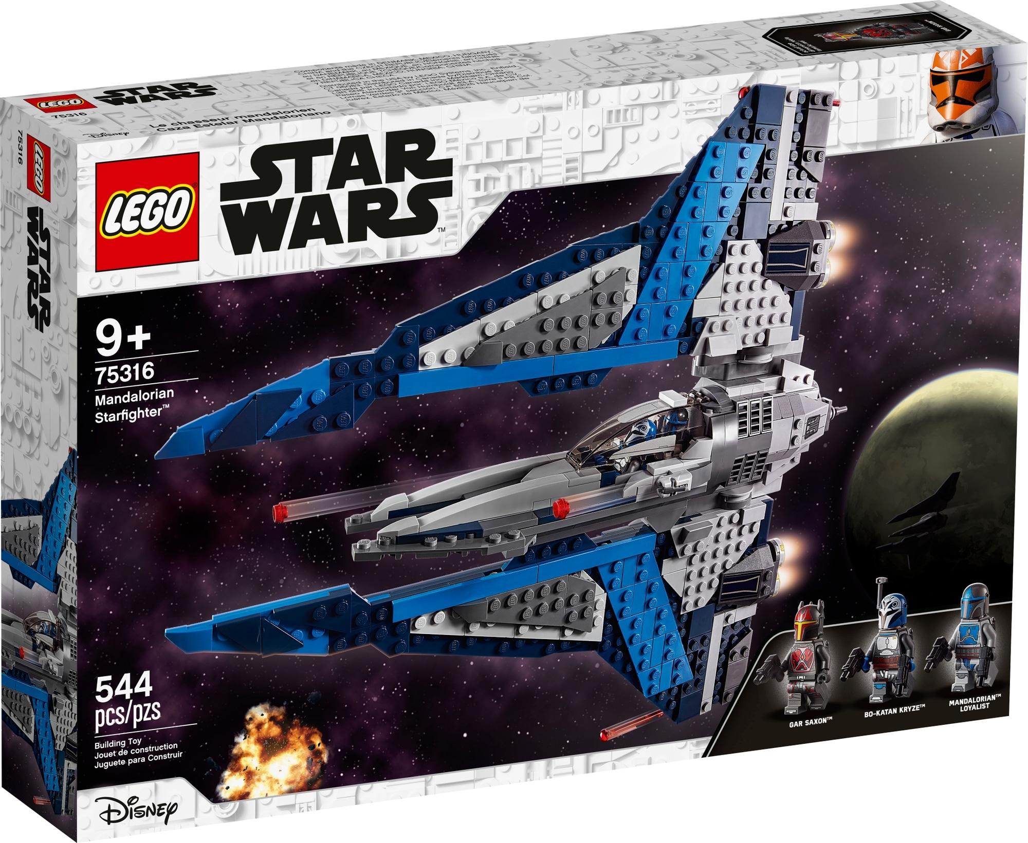 LEGO Star Wars 75316 Mandalorian Starfighter 2