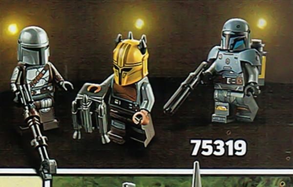 LEGO Star Wars 75319 Mandalorian Schmiede Minifiguren