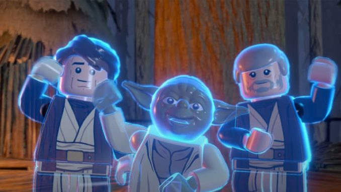 LEGO Star Wars Force Ghost Minifigures