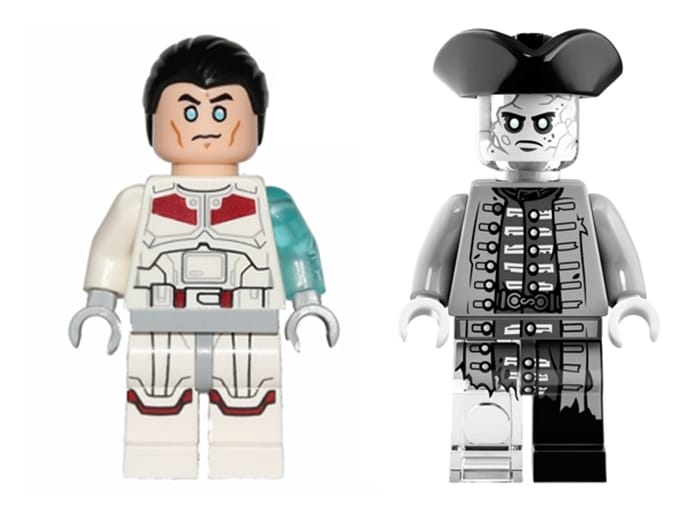 LEGO Star Was Transparente Minifiguren Jek 14 Geist