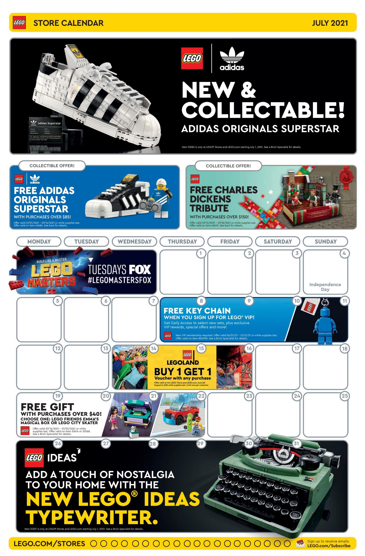 LEGO Store Flyer Juli 2021 1