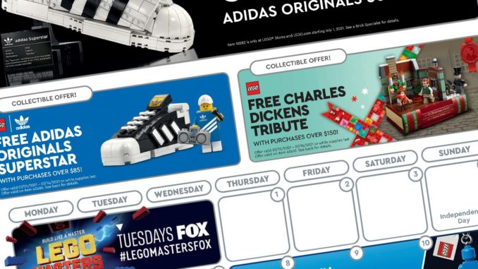 LEGO Store Flyer Juli 2021 Titel