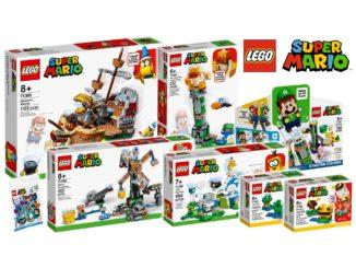 LEGO Super Mario 2021 Sommer Titelbild