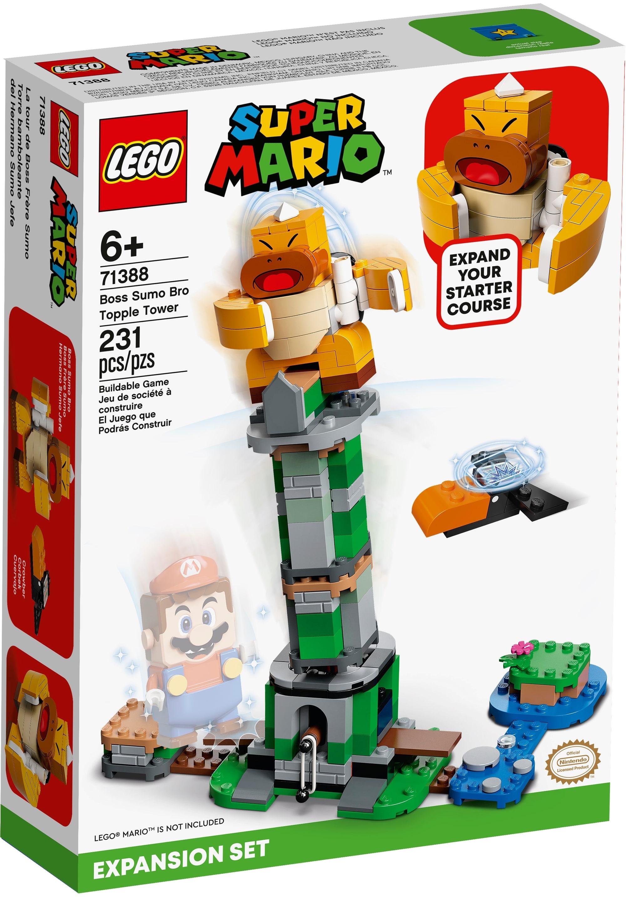 LEGO Super Mario 71388 Kippturm Mit Sumo Bruder Boss Erweiterungsset 2