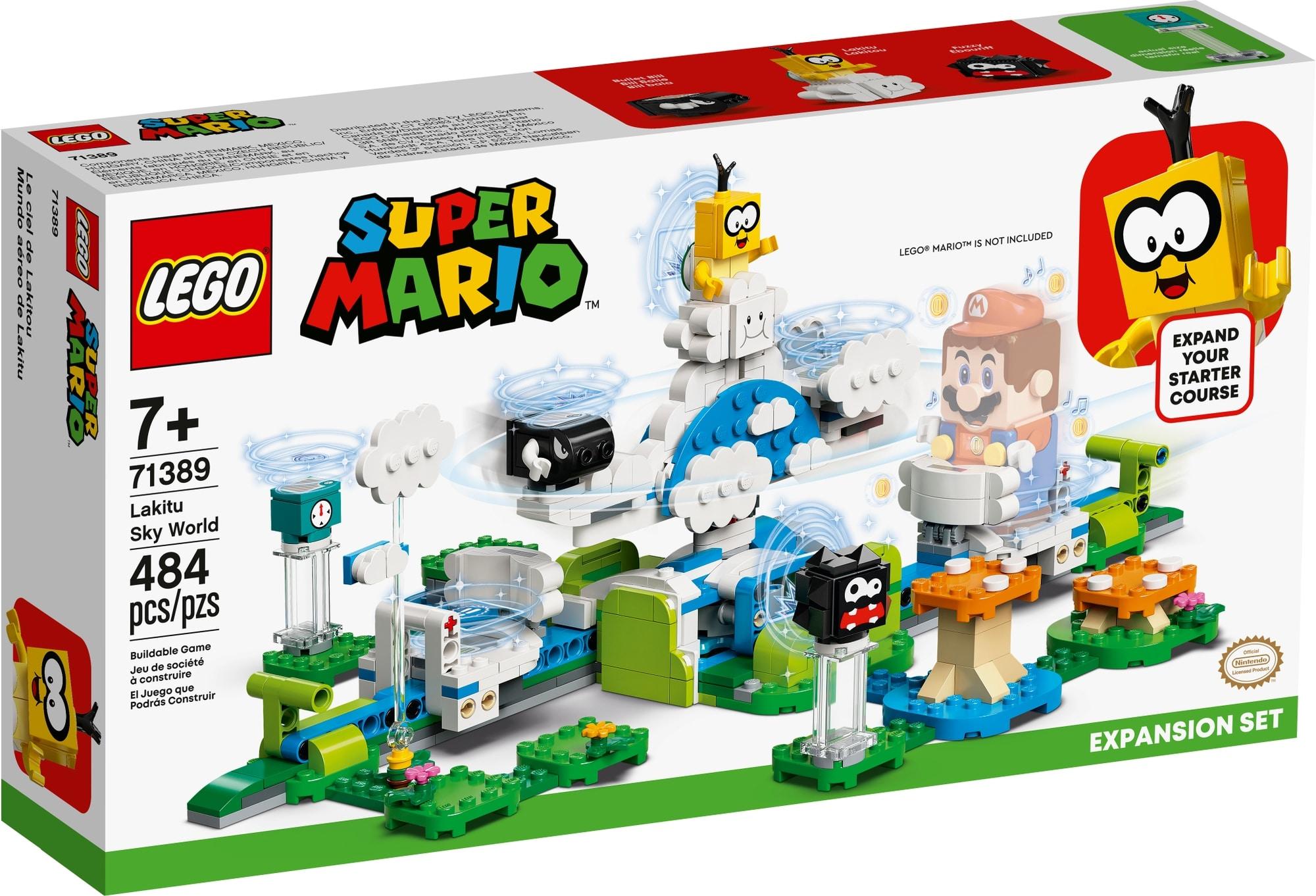 LEGO Super Mario 71389 Lakitus Wolkenwelt Erweiterungsset 2