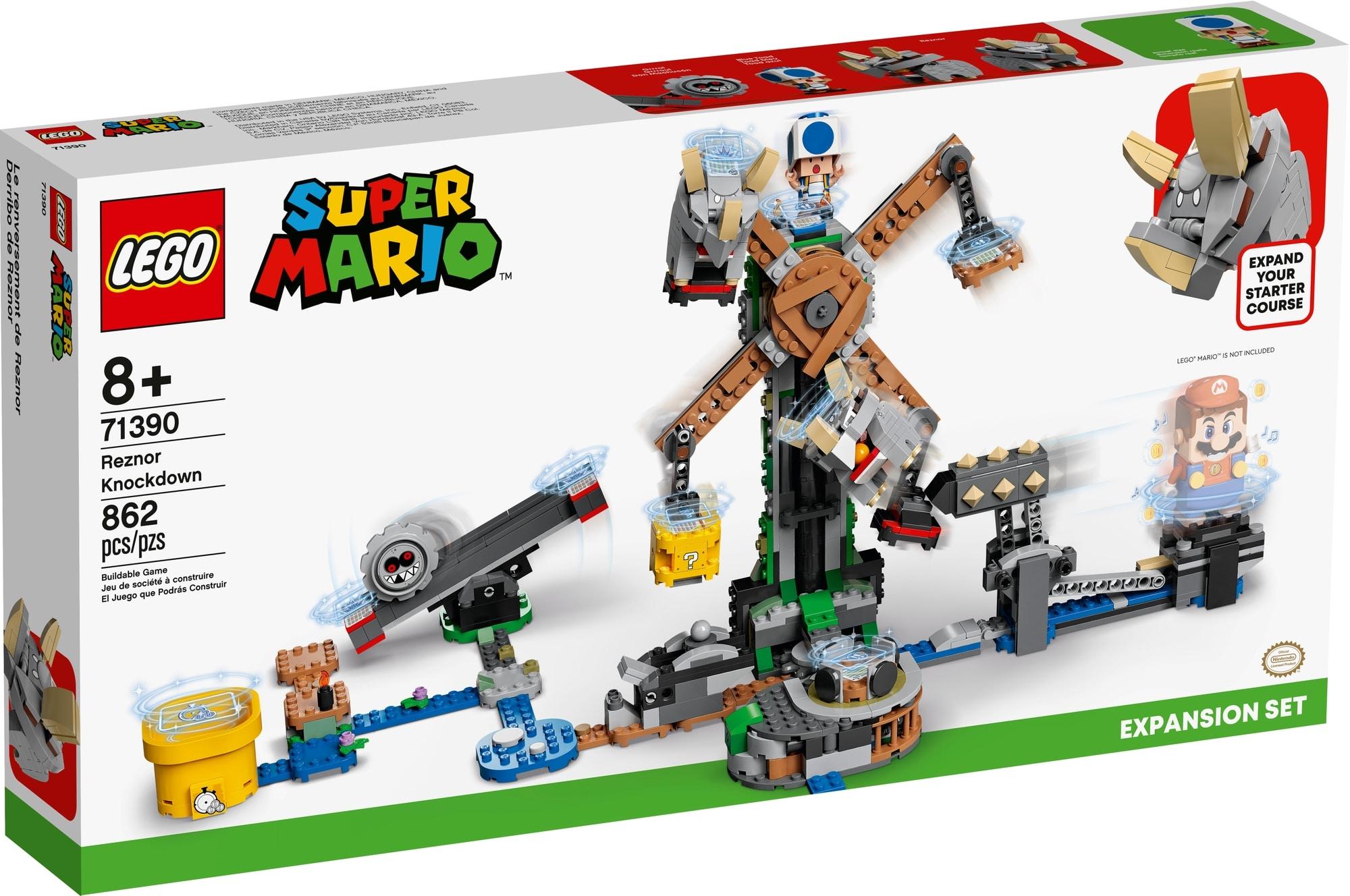 LEGO Super Mario 71390 Reznors Absturz Erweiterungsset 2