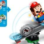 LEGO Super Mario 71390 Reznors Absturz Erweiterungsset 9