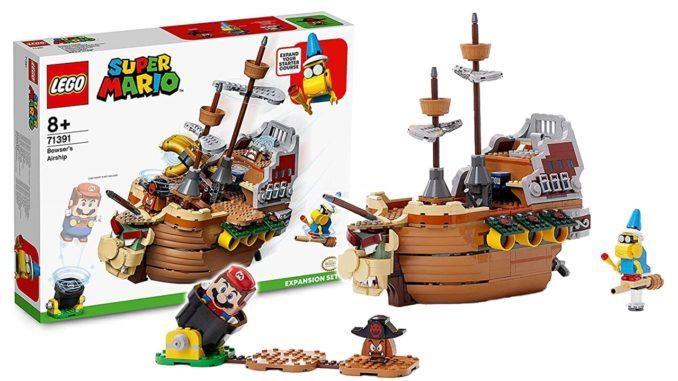 LEGO Super Mario 71391 Bowsers Airship Titel