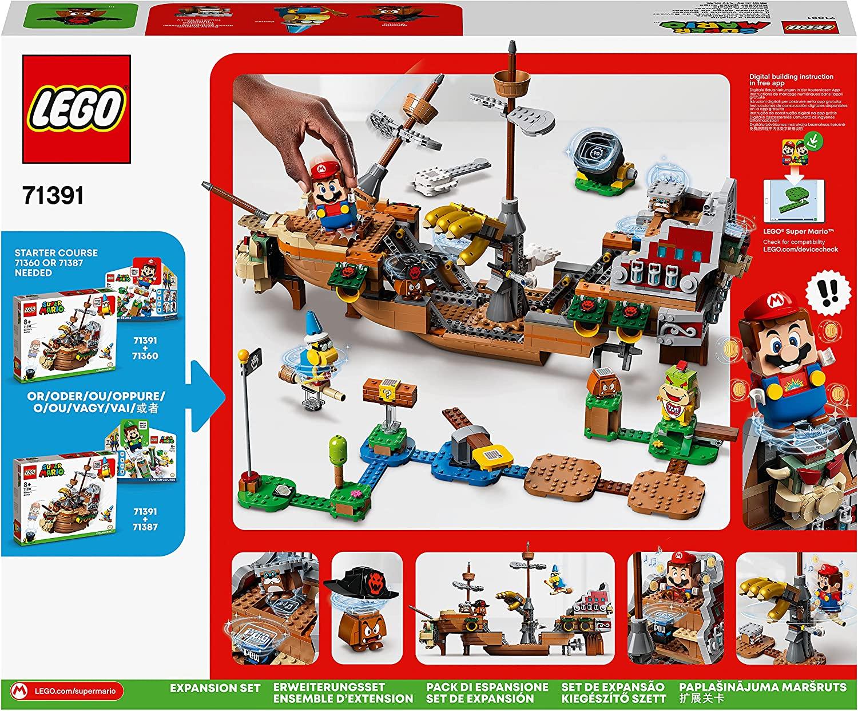 LEGO Super Mario 71391 Bowsers Airship