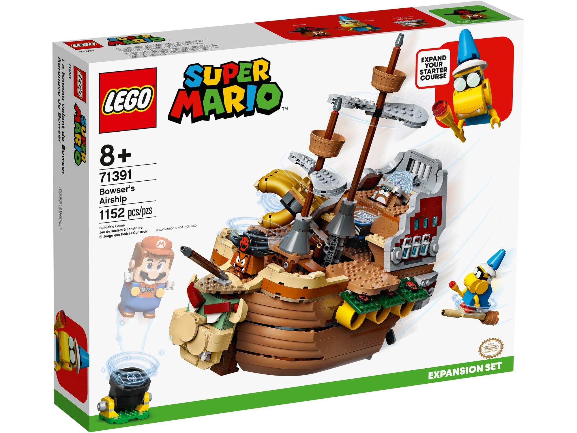 LEGO Super Mario 71391 Bowsers Luftschiff Erweiterungsset 2
