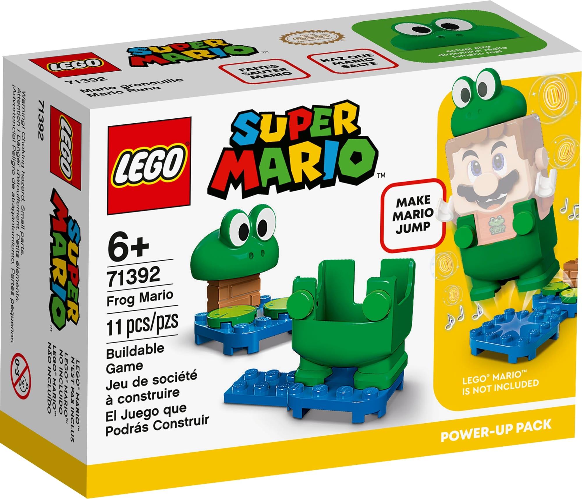 LEGO Super Mario 71392 Frosch Mario Anzug 2