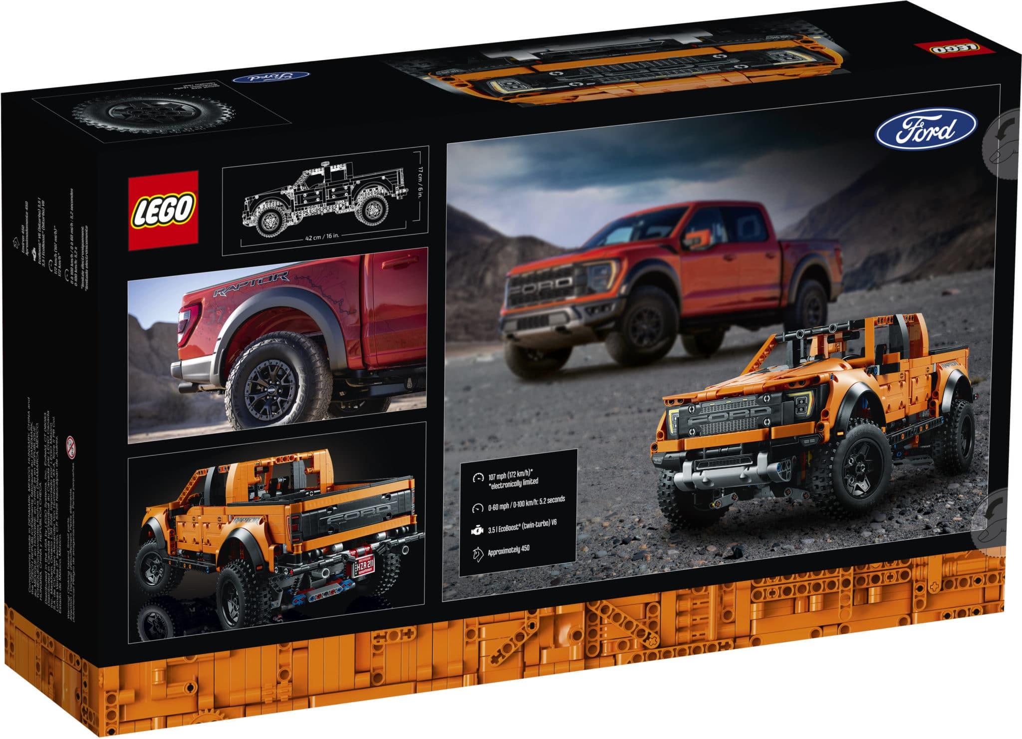 LEGO Technic 42126 Ford Raptor 2