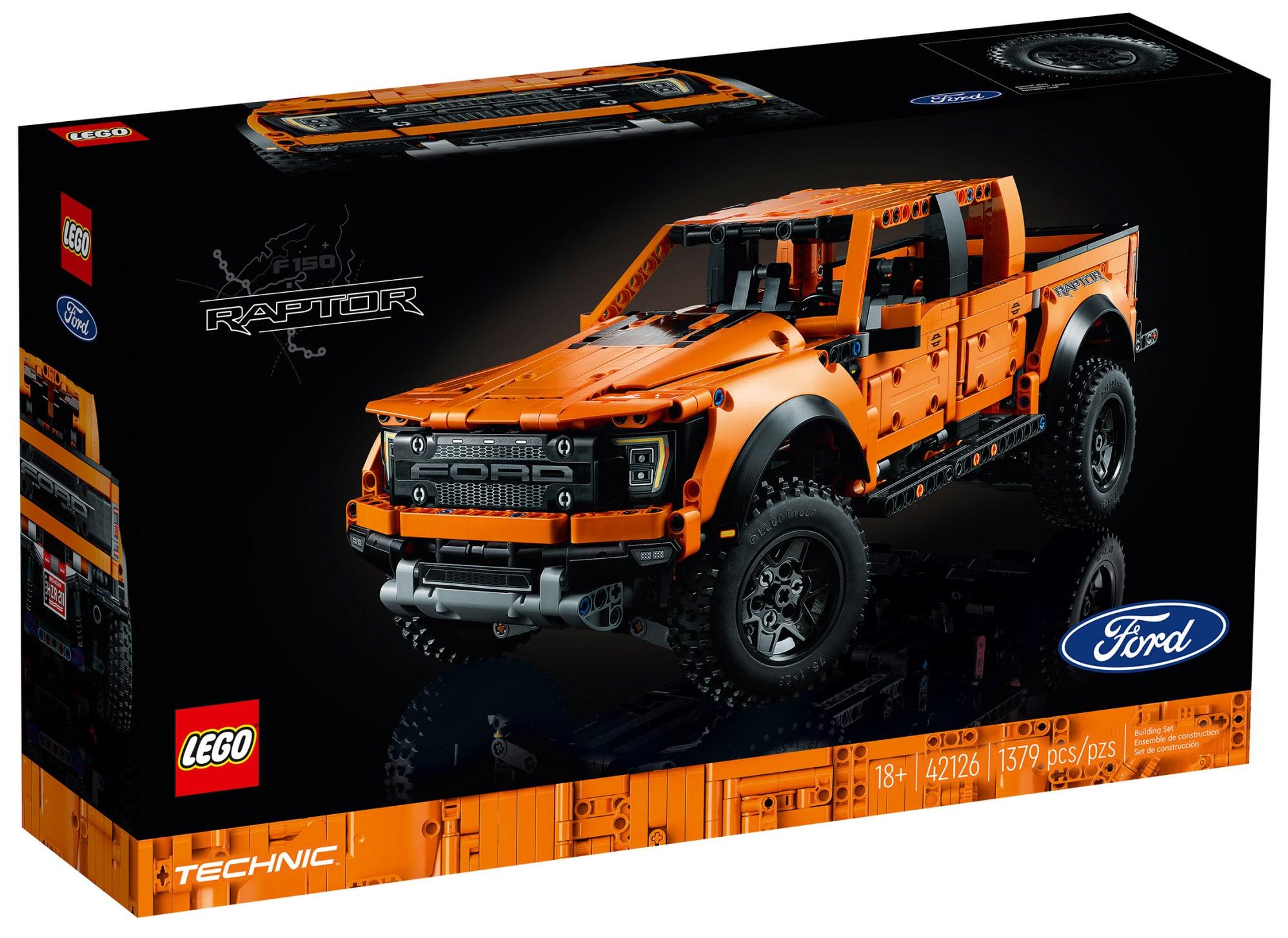 LEGO Technic 42126 Ford Raptor Box