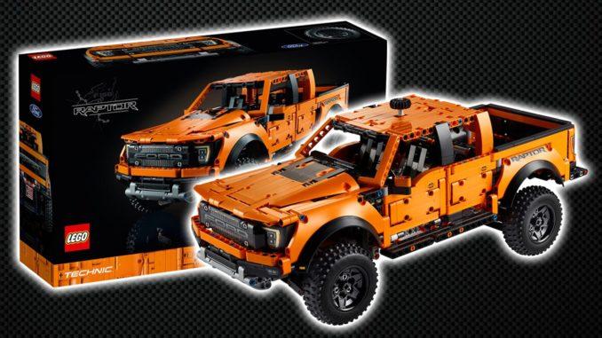 LEGO Technic 42126 Ford Raptor F 150