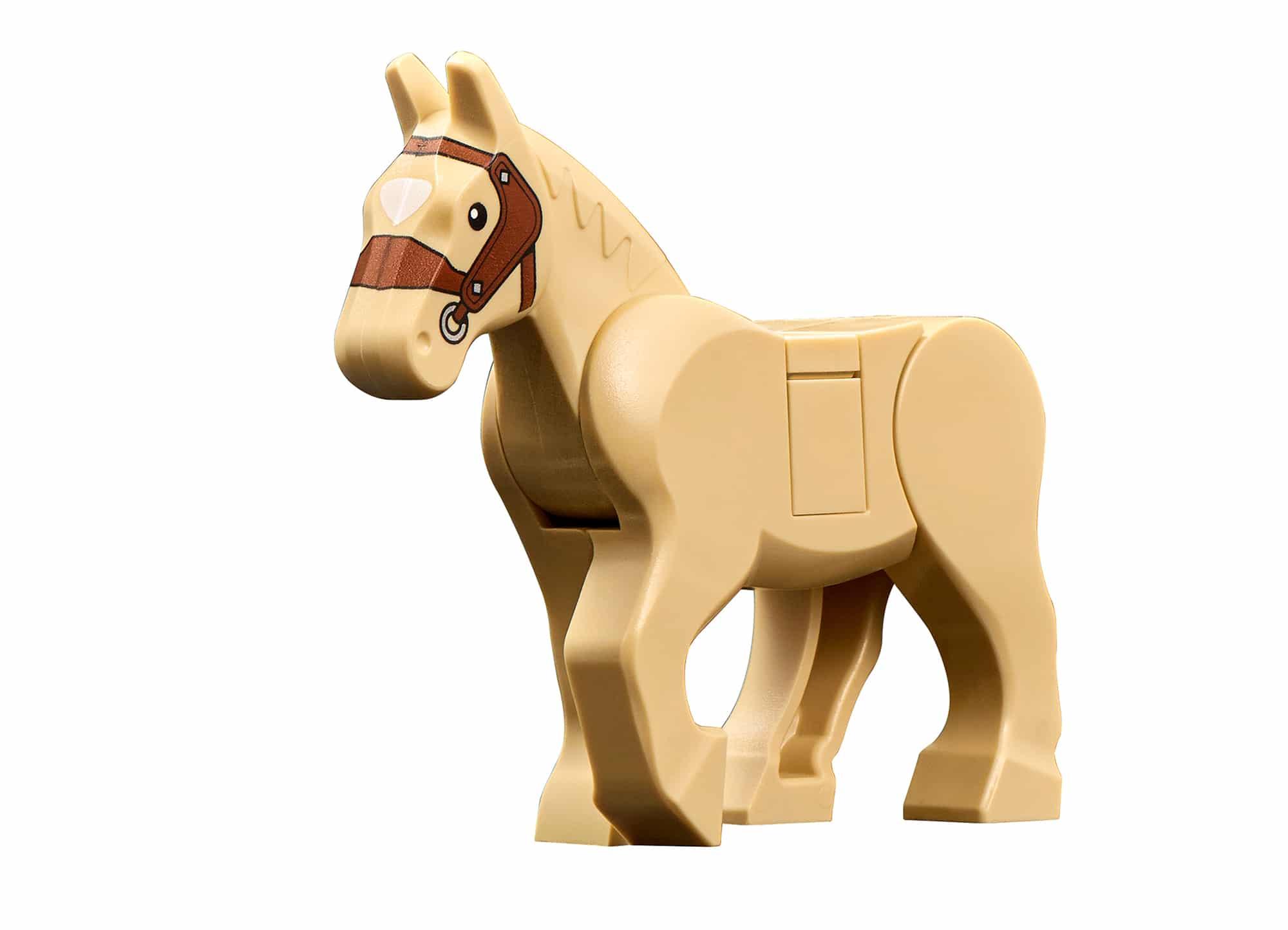 LEGO Tiere Pferd Beige