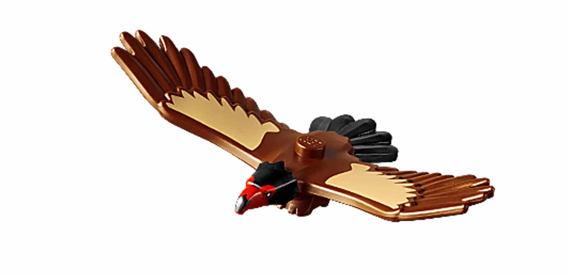 LEGO Tiere Vogel Adler Gaukler01