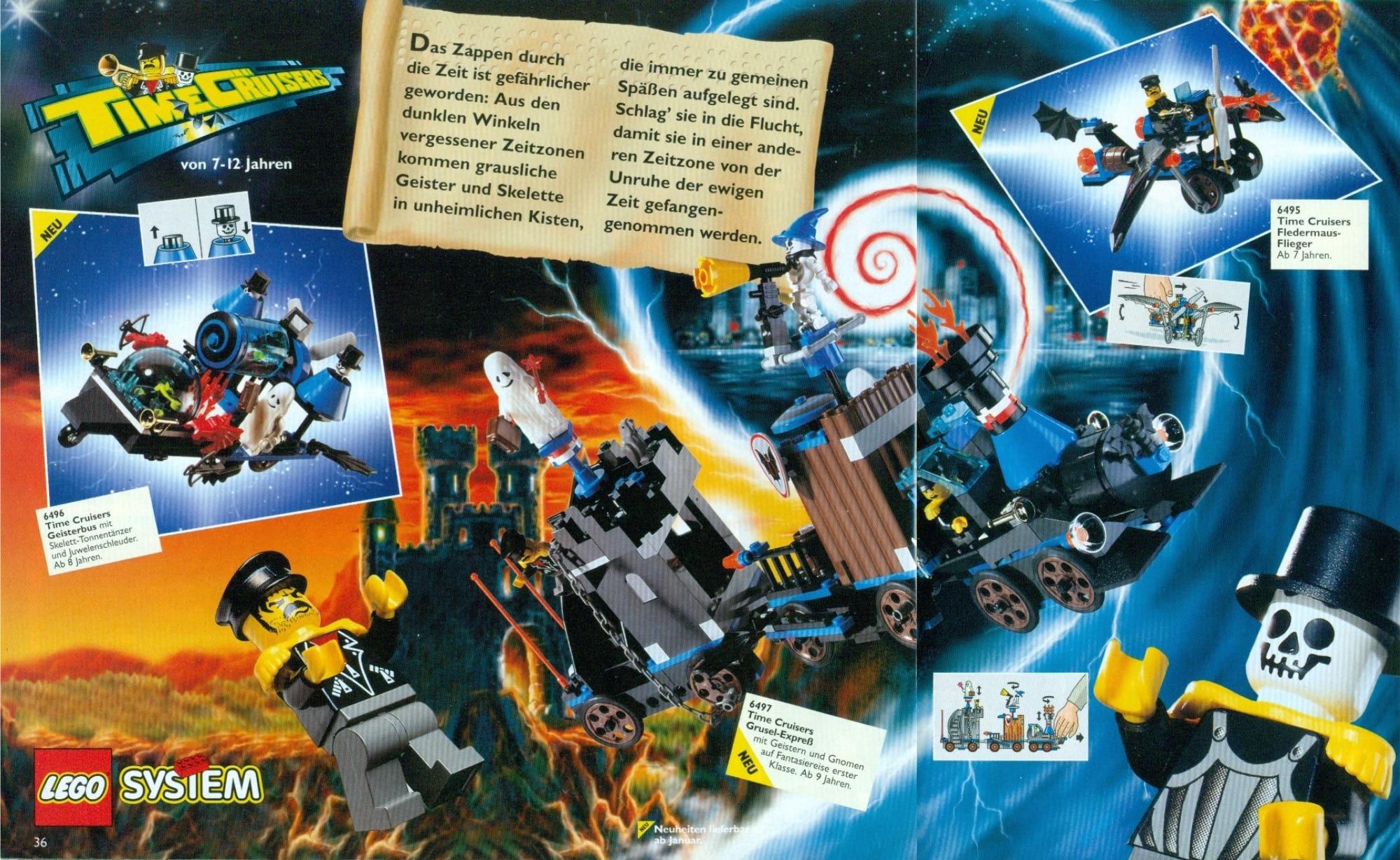 LEGO Time Cruisers Katalog De 1997