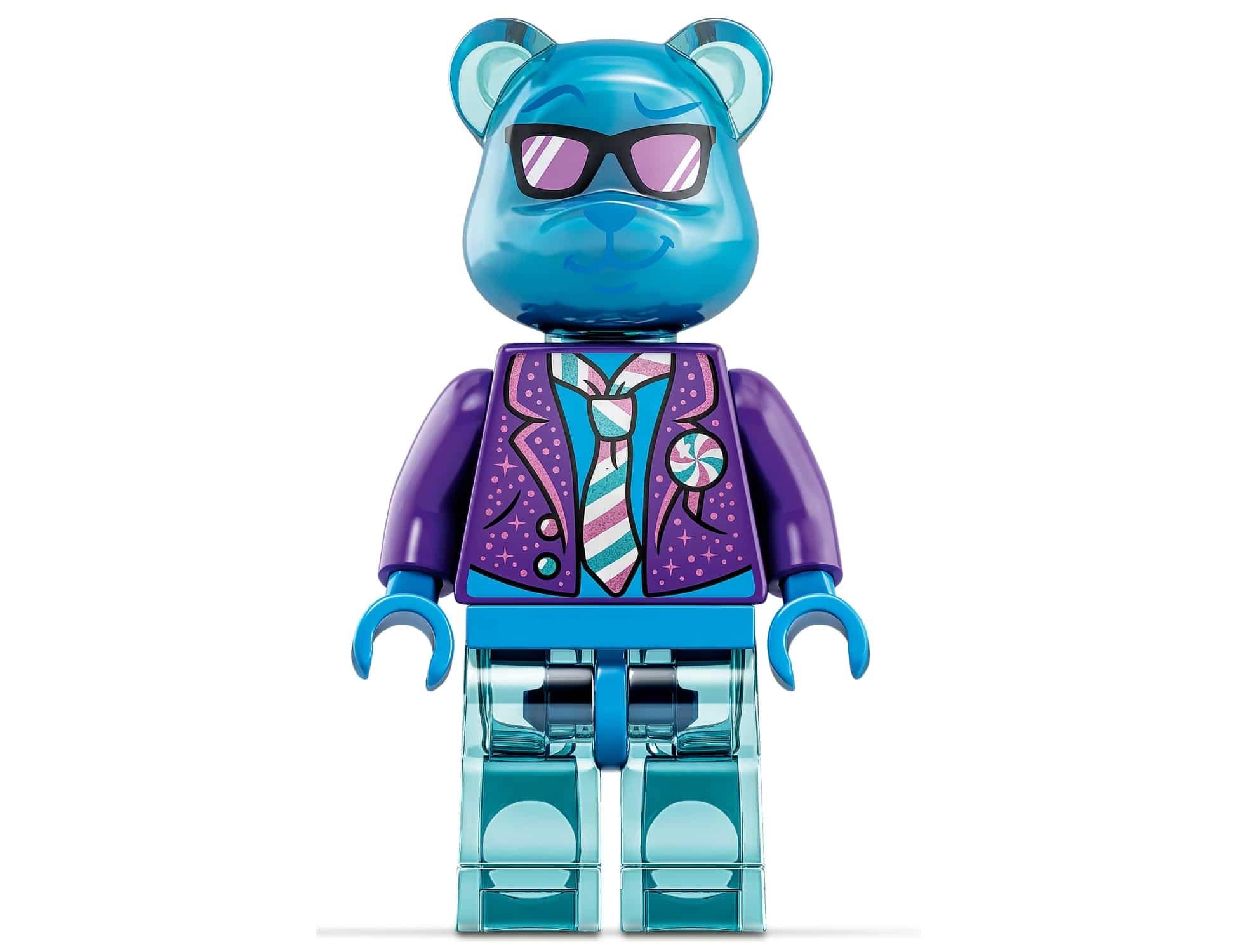 LEGO Vidiyo Transparente Minifigur