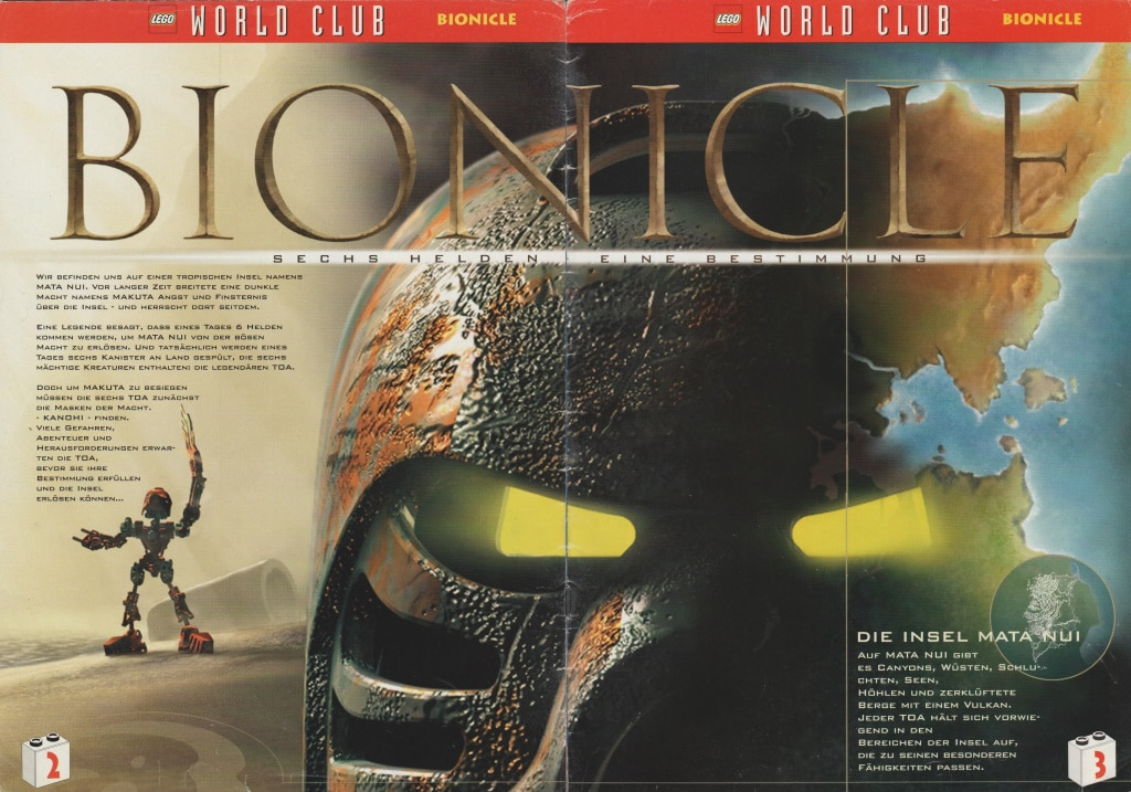 LEGO World Club Magazin Jan Feb 2001