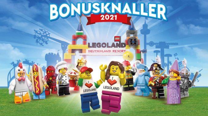 LEGOland Bonusheft 2021 Titel