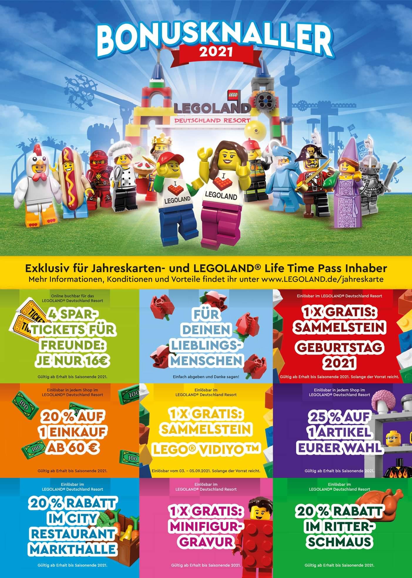 LEGOland Bonusheft 2021