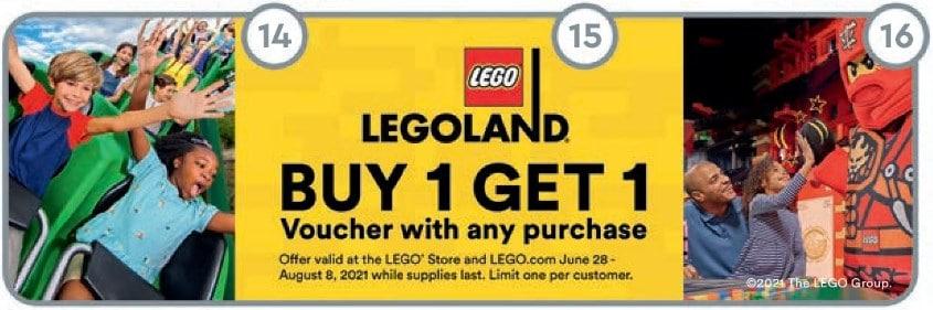 LEGOland Coupon Store Flyer Juli 2021