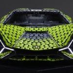 Life Size LEGO Technic Lamborghini Sian Fkp 37 (18)