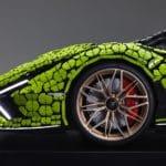 Life Size LEGO Technic Lamborghini Sian Fkp 37 (21)