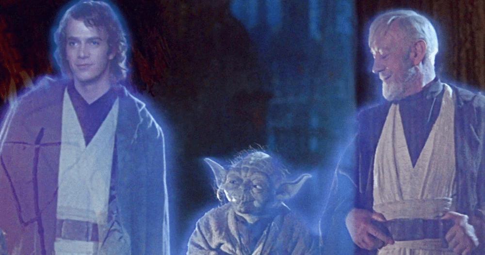 Star Wars Force Ghost Anakin Yoda Obi Wan