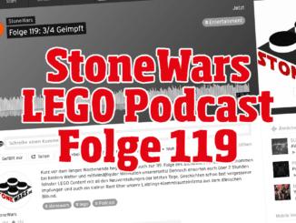 Stonewars LEGO Podcast Folge 119