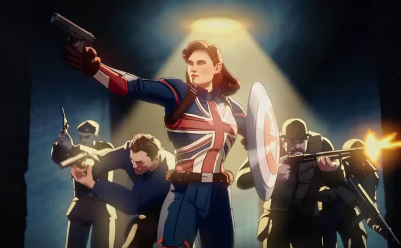 What If Captain Britain Peggy Carter