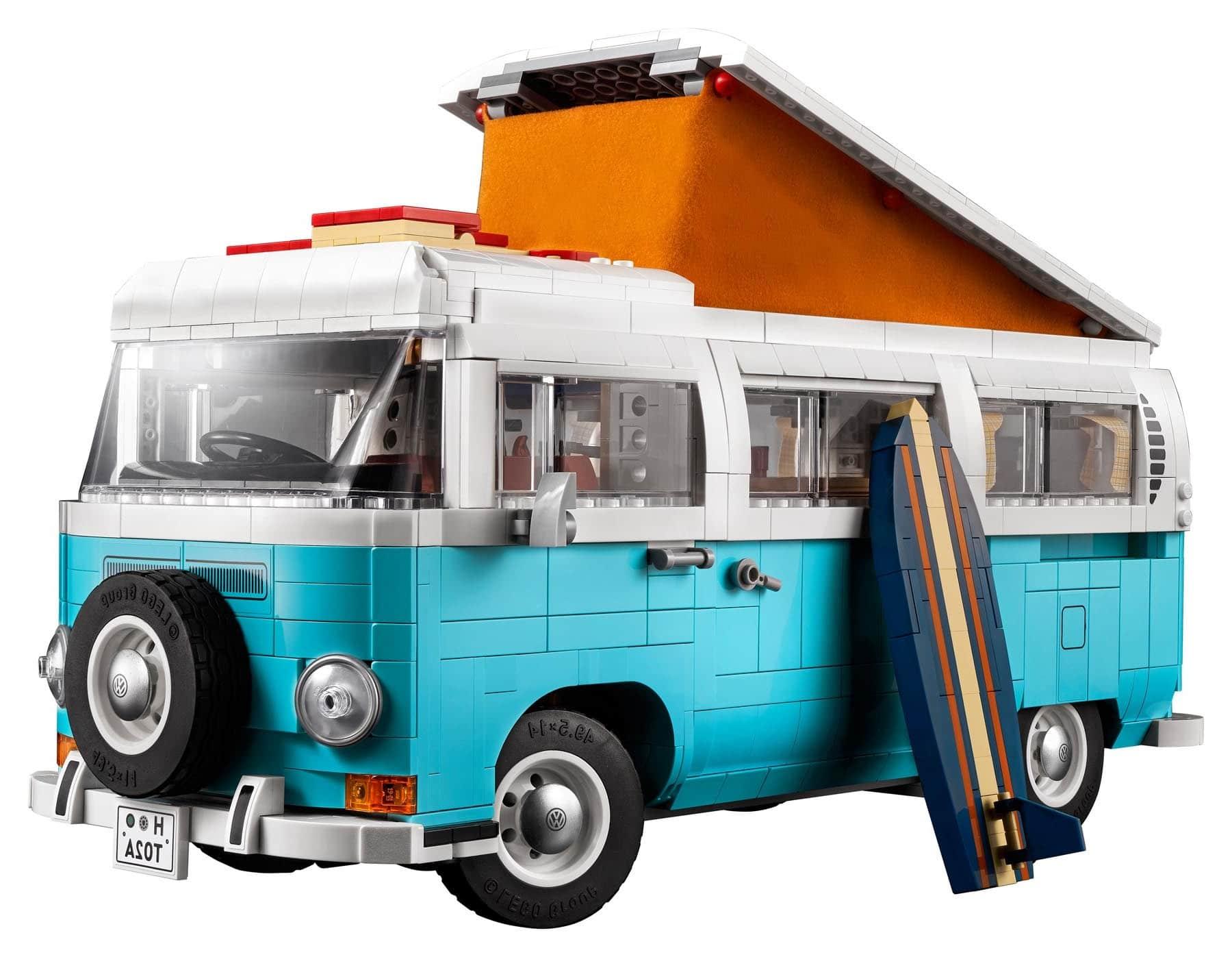 LEGO 10279 Volkswagen T2 Campingbus Gespiegelt
