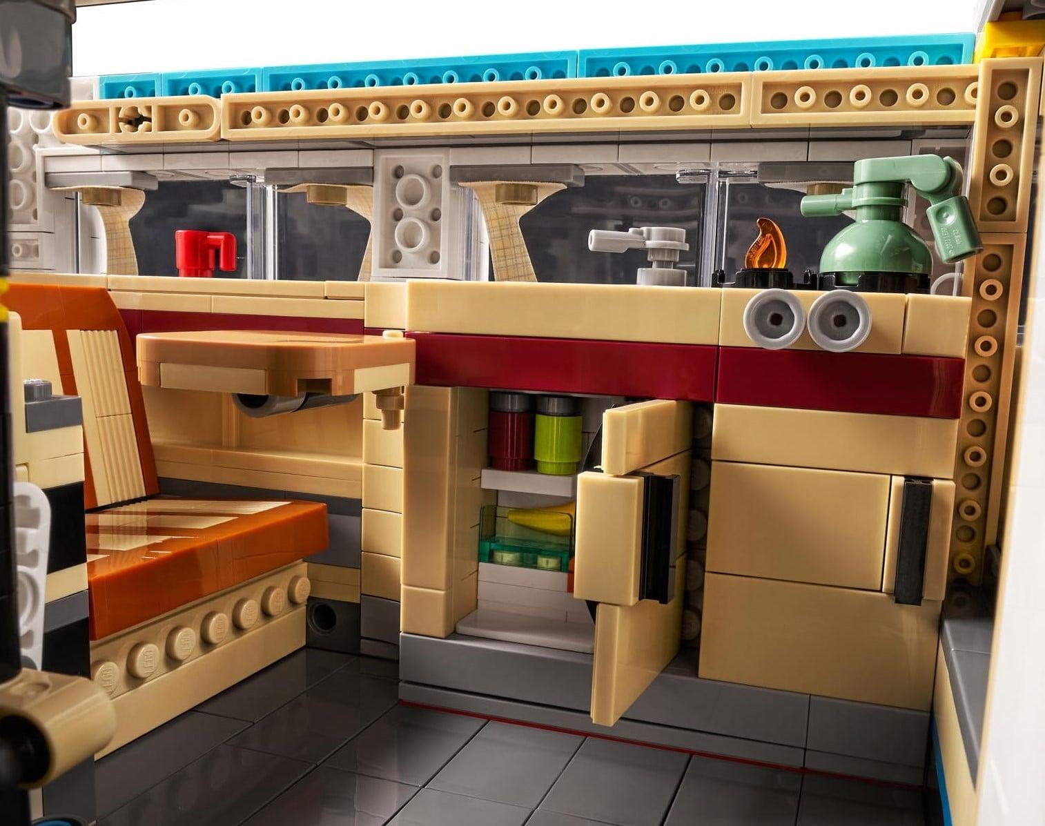 LEGO 10279 Vw T2 Innenraum