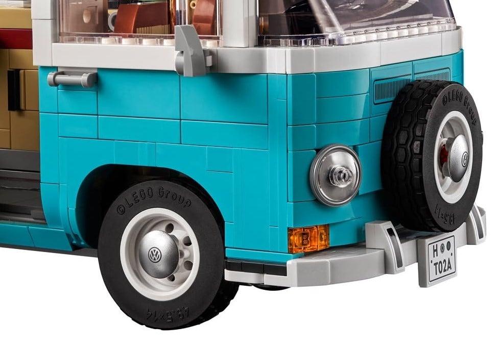 LEGO 10279 Vw T2 Radkappen
