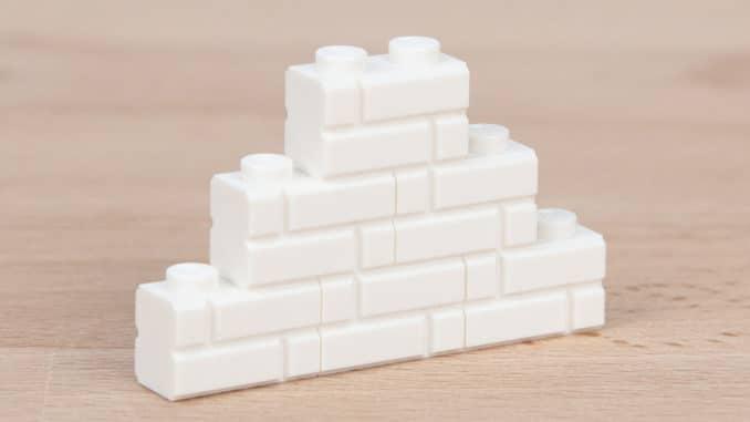 LEGO 1x2 Masonry Brick Weiß Titelbild