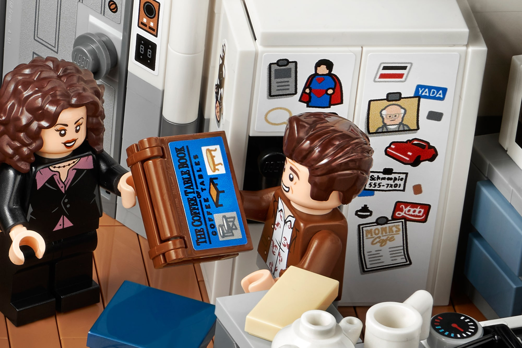 LEGO 21328 Seinfeld Details