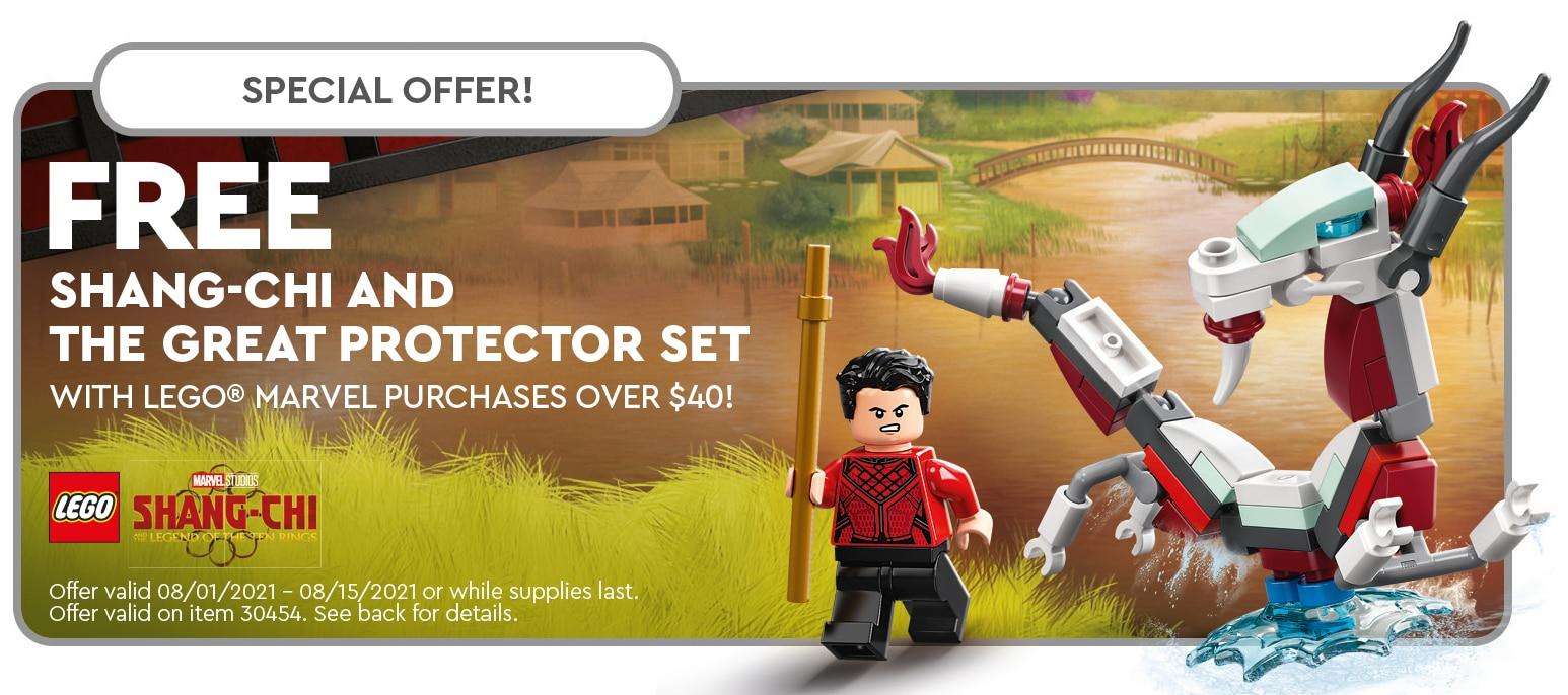 LEGO 30454 Shang Chi Polybag Aktion