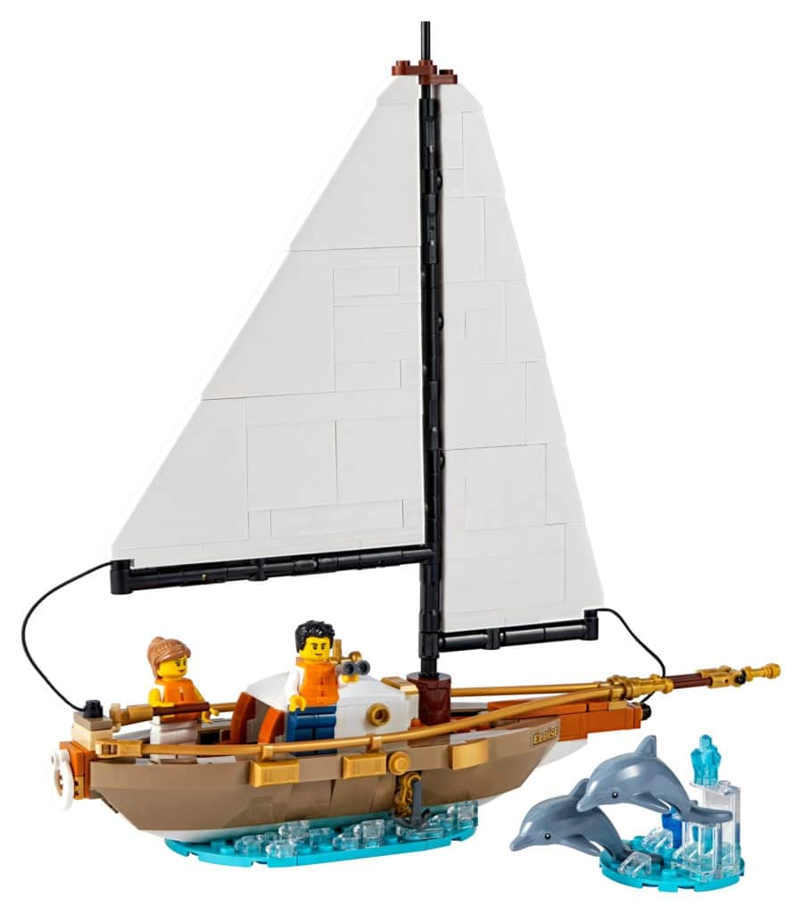 LEGO 40487 Segelboot Abenteuer 1