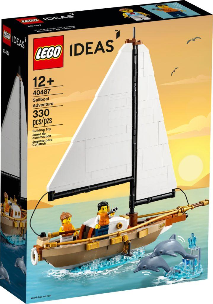 LEGO 40487 Segelboot Abenteuer 2