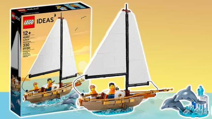 LEGO 40487 Segelboot Abenteuer Titelbild