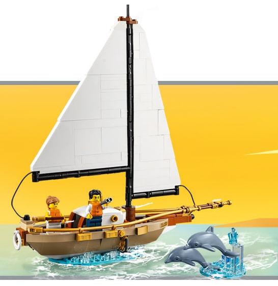 LEGO 40487 Segelboot