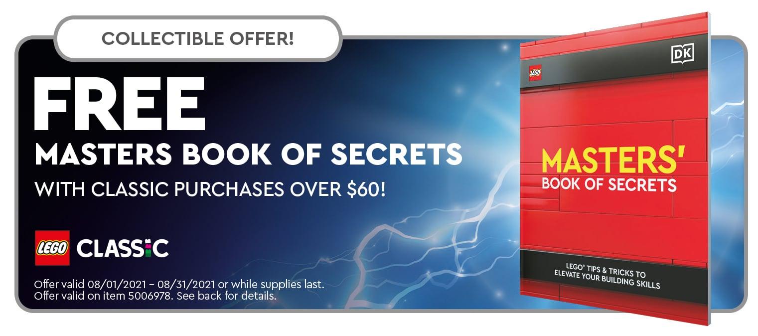 LEGO 5006978 Masters Book Of Secrets