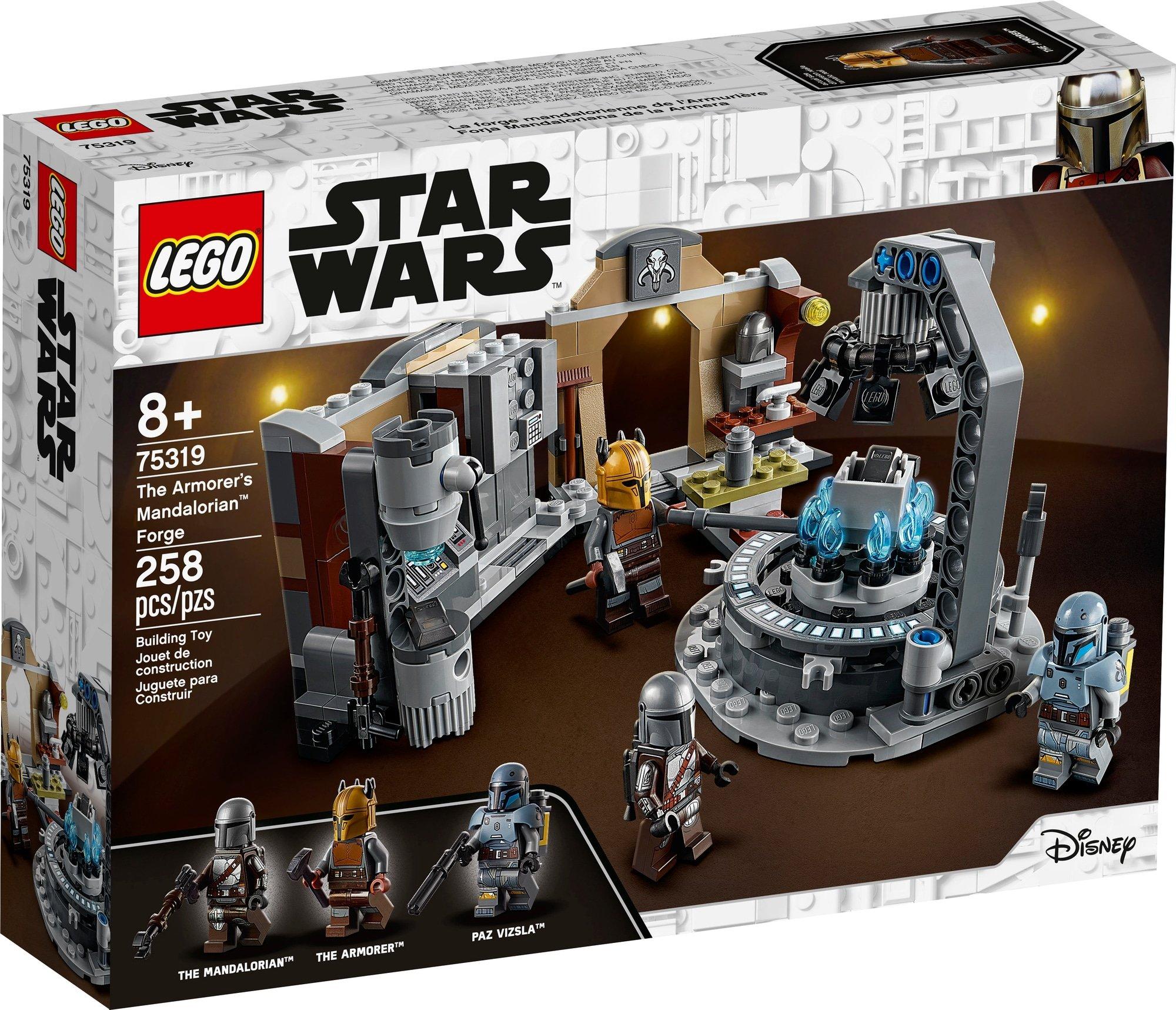 LEGO 75319 Die Mandalorianische Schmiede Der Waffenschmiedin 2