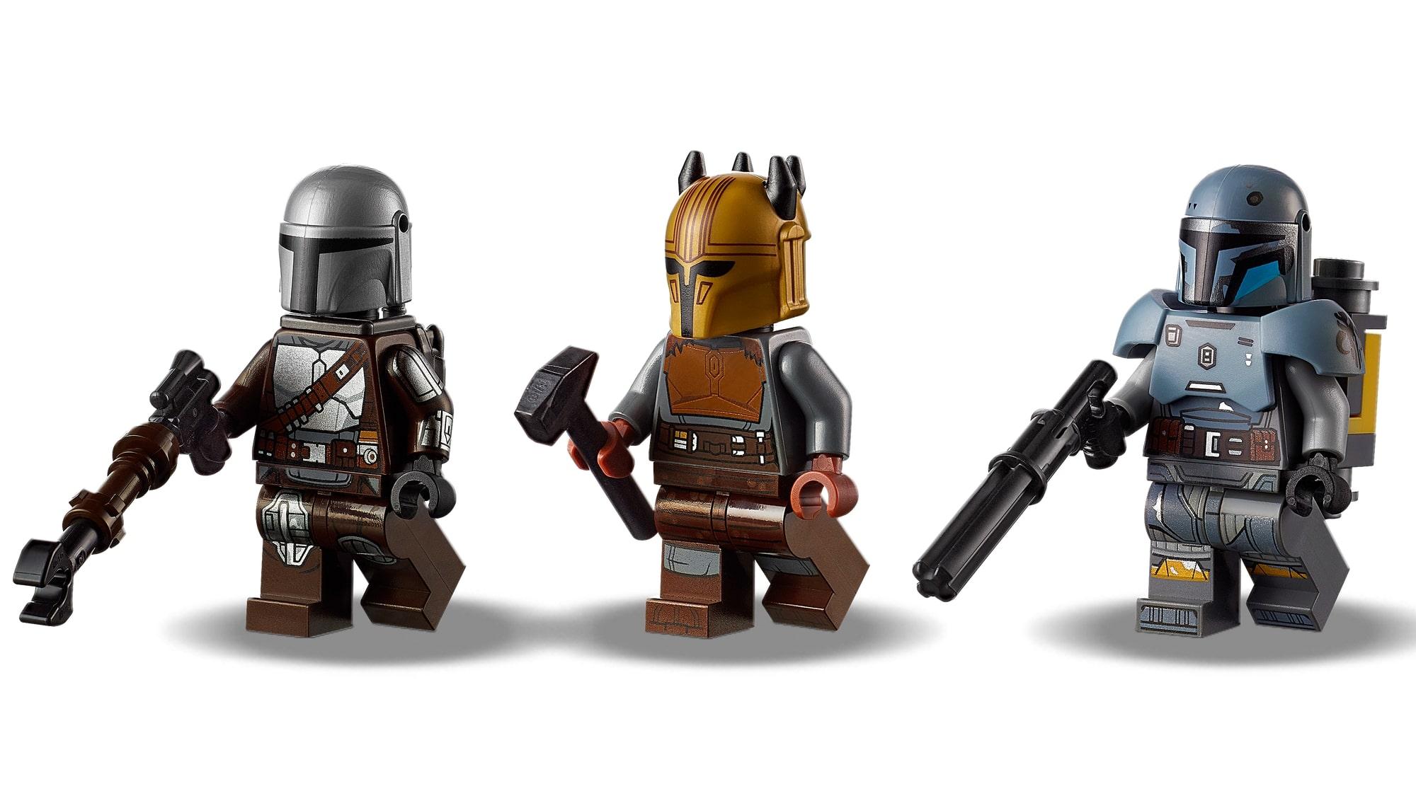 LEGO 75319 Die Mandalorianische Schmiede Der Waffenschmiedin 3