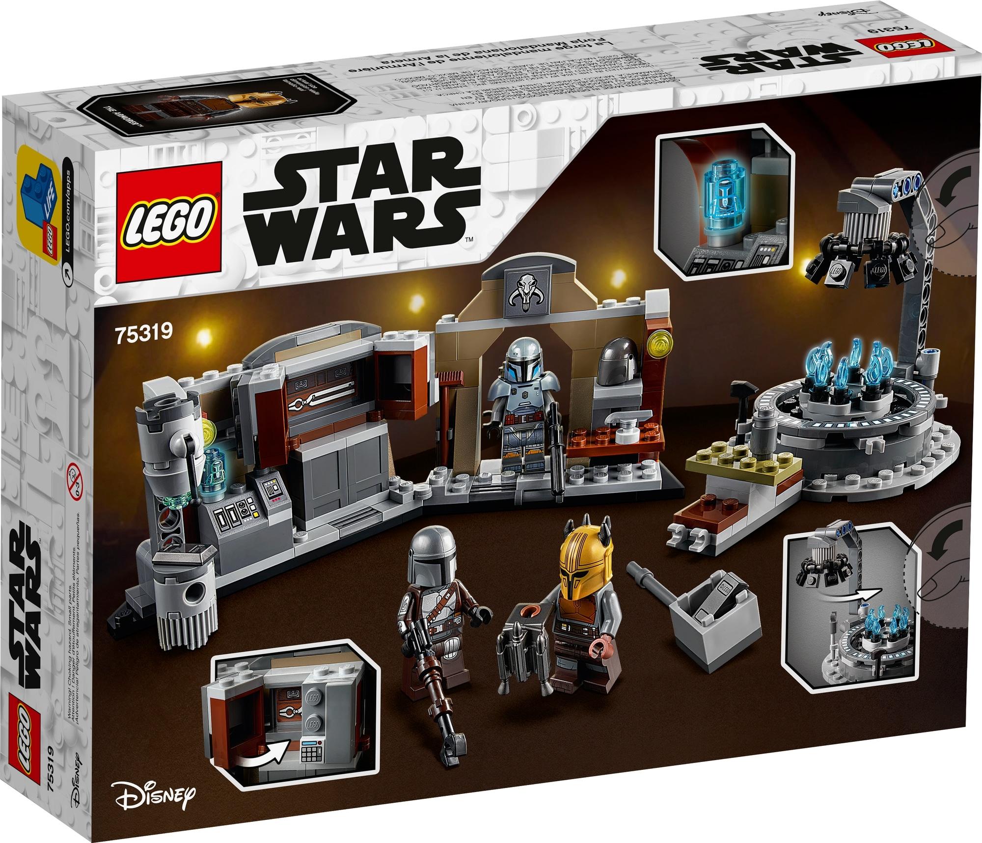 LEGO 75319 Die Mandalorianische Schmiede Der Waffenschmiedin 9