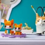 LEGO Brickheadz 40480 Rot Getigerte Katze 4