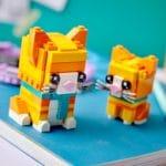 LEGO Brickheadz 40480 Rot Getigerte Katze 6