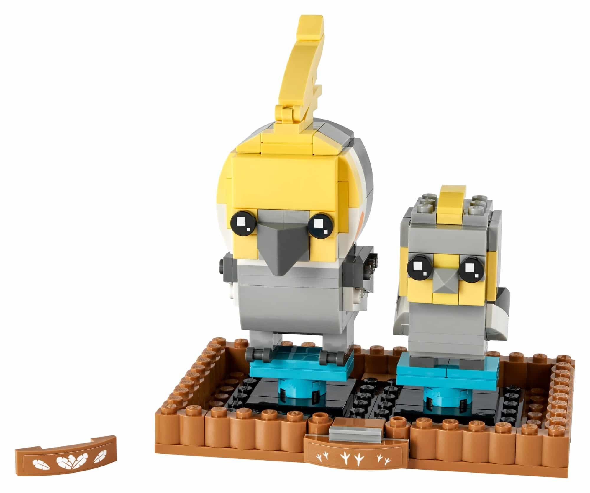 LEGO Brickheadz 40481 Nymphensittich 1